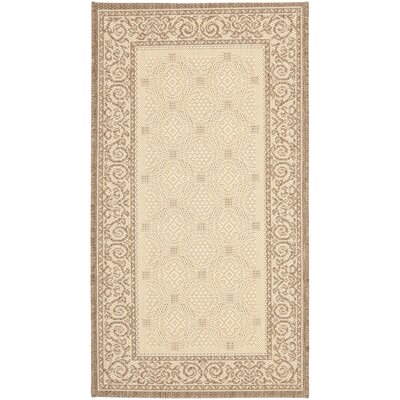 Beasley Garden Gate Outdoor Rug Rug Size: Rectangle 53 x 77
