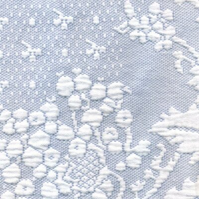 Erich Pillow Sham Size: King, Color: Wedgewood Blue