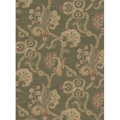 Mendon Green Area Rug Rug Size: 5 x 8