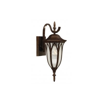 Akers 1-Light Outdoor Wall Lantern
