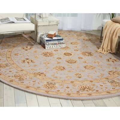 Lundeen Ivory/Light Blue Area Rug Rug Size: 12 x 15