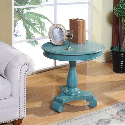 Charles End Table Finish: Teal
