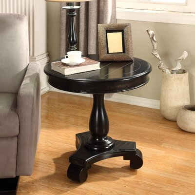 Charles End Table Finish: Black