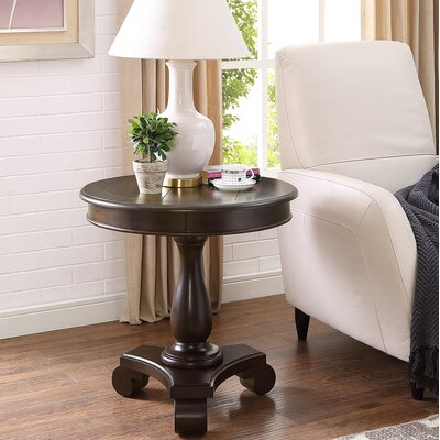 Charles End Table Finish: Espresso