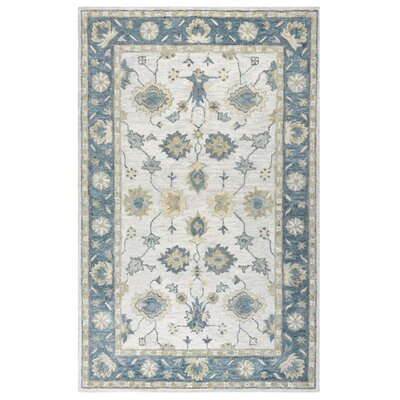 Jelia Hand-Tufted Natural Area Rug Size: 5' x 8'