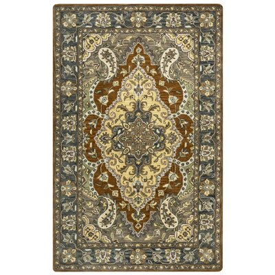 Ingram Hand-Tufted Multi Area Rug Rug Size: 5 x 8