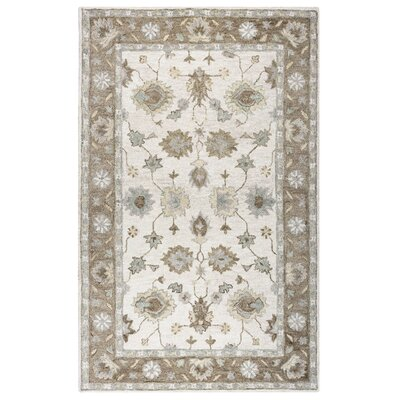 Jelia Hand-Tufted Natural Area Rug Size: Runner 26 x 8