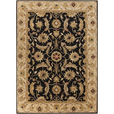 Garrison Caviar Area Rug Rug Size: Rectangle 33 x 53