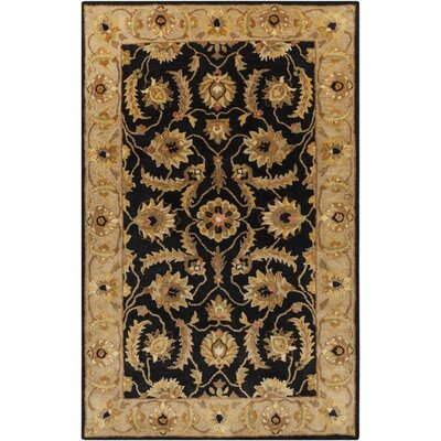 Garrison Caviar Area Rug Rug Size: Rectangle 5 x 8