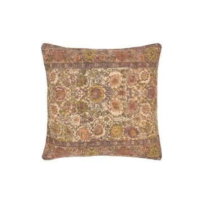 Arch Hill Pillow Cover Size: 22 H x 22 W x 1 D, Color: Pink