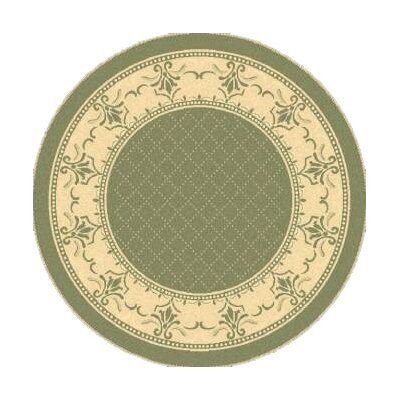 Beasley Olive/Natural Outdoor Area Rug Rug Size: 710 x 11