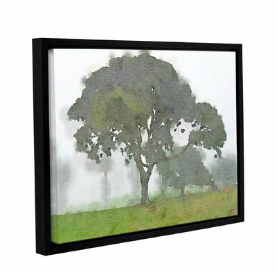 'In the Morning 7' Framed Painting Print on Canvas Size: 14