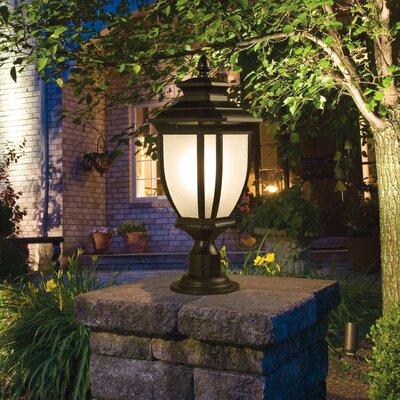Greenview Outdoor 1-Light Lantern Head Finish: Black