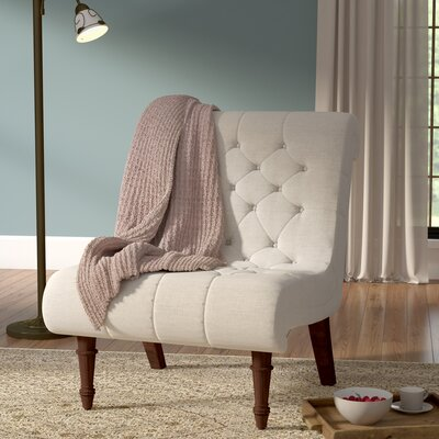 Barnkine Tufted Side Chair Upholstery: Oatmeal