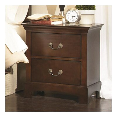 Malvina 2 Drawer Nightstand