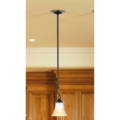 Alluvial 1-Light Piccolo Pendant Color: Palladian Bronze