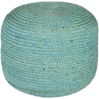 Tai Sphere Pouf Upholstery: Aqua