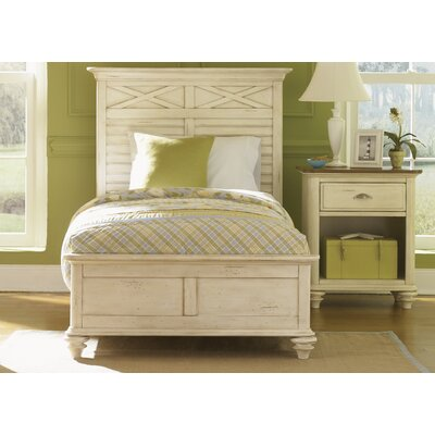 Bridgeview Wood Frame Panel Bed