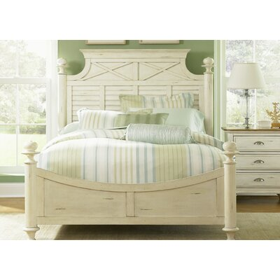 Light Wood Footboard Size: King