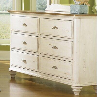Bridgeview 6 Drawer Double Dresser
