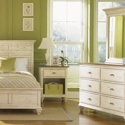 Duval 6 Drawer Dresser with Mirror