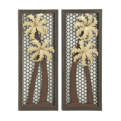 Chaplin Bay 2 Piece Wall Décor Set