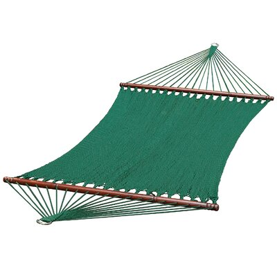 Brunson Polyester Tree Hammock Color: Green