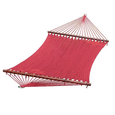 Cohen Polyester Tree Hammock Color: Burgundy