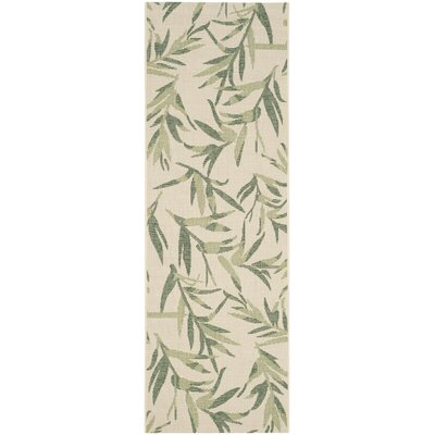 Higgs Beige/Sweet Pea Area Rug Rug Size: Rectangle 27 x 5