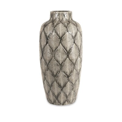 Hog Bay Feathered Oversize Vase
