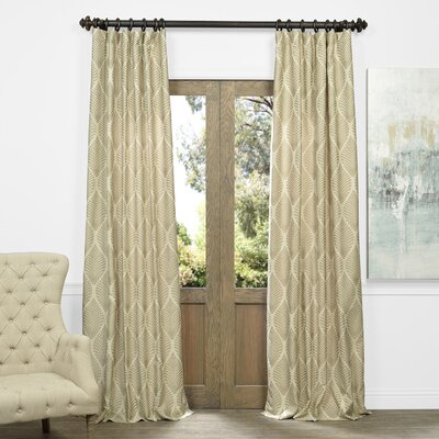 Allamanda Thermal Single Curtain Panel Size: 50 W x 84 L