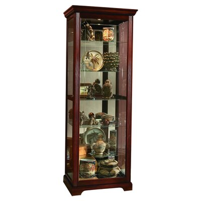 Logan Ryleigh Curio Cabinet Finish: Victorian Cherry