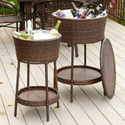 Dennis 2 Piece Wicker Bucket Set