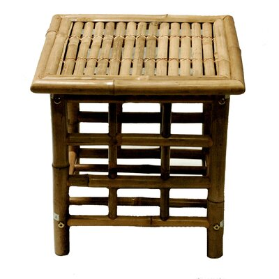Josephine Bamboo Square Side Table