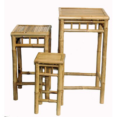 Mako 3 Piece Nesting Stool Set