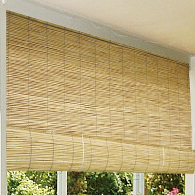 Reed Roller Blind Size:  72 W x 72 L