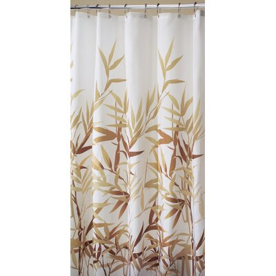Barleria Shower Curtain Finish: Beige Print