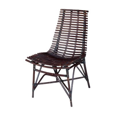 Santacruz Side Chair Color: Dark Brown