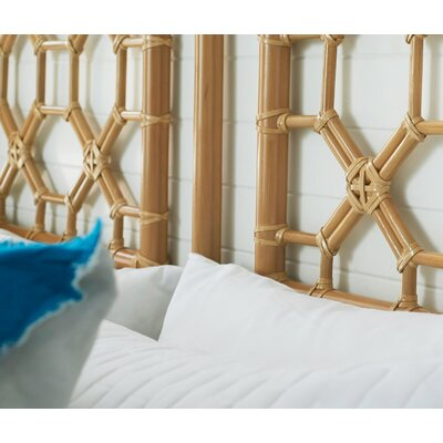 Sina Open-Frame Headboard Size: Queen, Color: Natural