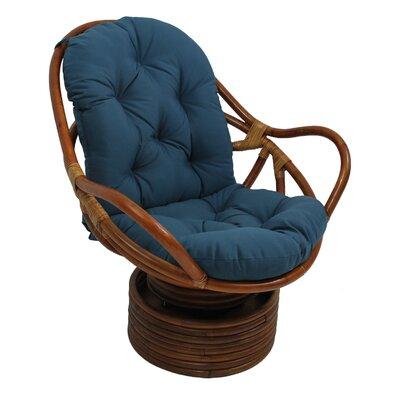 Jimena Papasan Chair Upholstery: Indigo