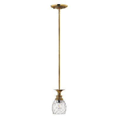 Terry Oval Shade 1-Light Mini Pendant