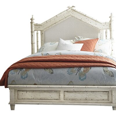 Harrouda Panel Headboard Size: Queen, Finish: White