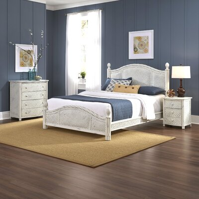 Naugatuck Panel 3 Piece Bedroom Set