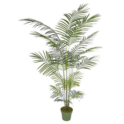 Artificial Areca Palm Tree Floor Plant in Planter