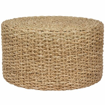 Kianna Rush Grass Knotwork Coffee Table Color: Natural