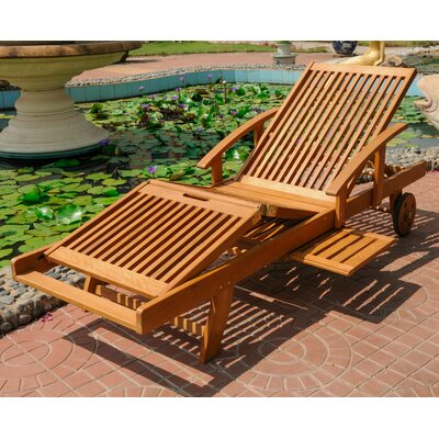 Dracaena Balau Outdoor Chaise Lounge