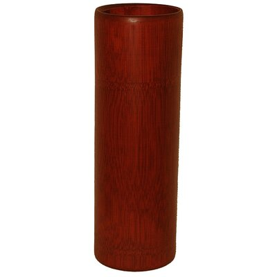 Porter Bamboo Vase Finish: Stained