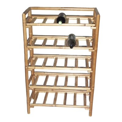 Josephine 25 Bottle Floor Wine Rack