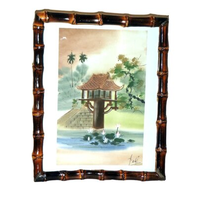 Porter Bamboo Picture Frame Color: Burnt