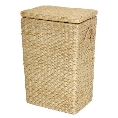 Horsetail Laundry Hamper Finish: Natural